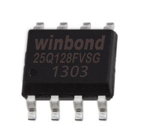 Pamięć Serial Flash 128-Mbit (16MB) SPI 25Q128 Winbond SO8 (SMD) - 2828172908