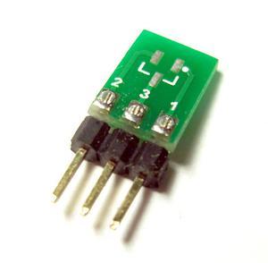 Adapter SOT23-->SIL3 dla diod, tranzystorów i in. (SOT-23-3) - 2828172939