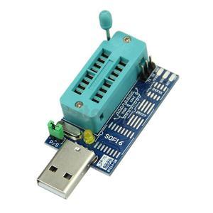 Programator USB CH341A szeregowych pamięci SPI Flash i EEPROM oraz konwerter USB-TTL