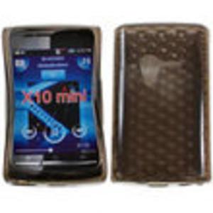 Etui back case - pokrowiec silikonowy Sony Xperia X10 Mini - 2833103836