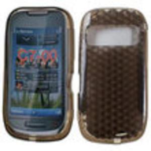 Etui back case - pokrowiec silikonowy Nokia C7 - 2833103838
