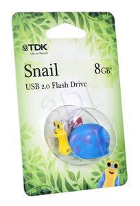 TDK FLASH SNAIL 8GB USB 2.0 - 2826391560