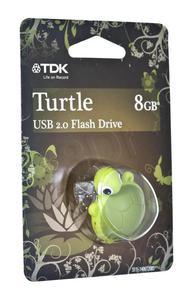 TDK FLASH TURTLE 8GB USB 2.0 - 2826391561