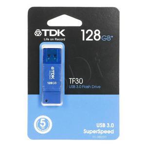 TDK FLASH TF30 128GB USB 3.0 Blue - 2826391572