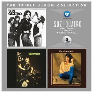 SUZI QUATRO - TRIPLE ALBUM COLLECTION - Album 3 p - 2826393165