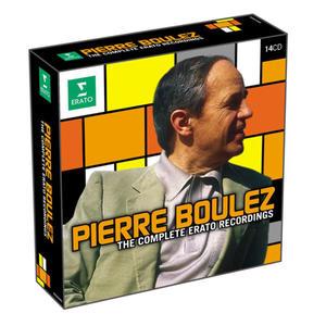 PIERRE BOULEZ - THE ERATO RECORDINGS - Album 14 p - 2826393549