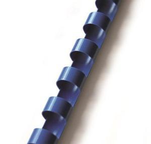 Grzbiety do bindowania plastikowe 25mm 50 sztuk niebieski - 2828931196