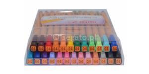 Cienkopisy Rystor RC 04 zestaw w etui 25 kolorów - 2828931427