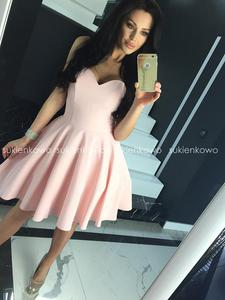 MENRIN - rozkloszowana gorsetowa sukienka r - 2854952433