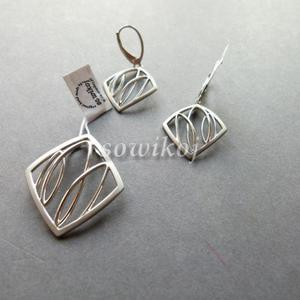 Silver pętelki wisiorek - 2846799026
