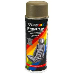 Motip lakier do vinylu, skóry ciemny beżowy matowy spray 200ml. - 2863020502