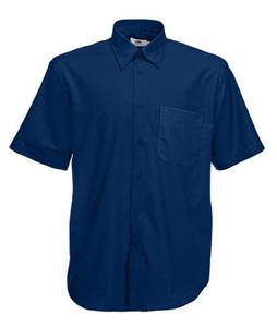 Koszula męska S/S Oxford Shirt Granatowa M - 2827616284