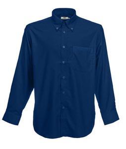 Koszula męska L/S Oxford Shirt Granatowa M - 2827616309