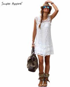 Sukienka Simplee Apparel P124 - 2842238635