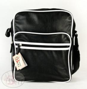 9d95fdc1c85f1 Czarna torba młodzieżowa GABARA - 2829289681
