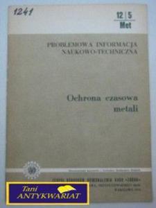PROBLEMOWA INFORMACJA NAUKOWO-TECHNICZNA OCHRONA..