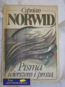 PISMA WIERSZEM I PROZĄ-CYPRIAN NORWID - 2822521886