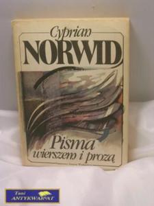 Pisma wierszem i prozą- NORWID - 2822523371