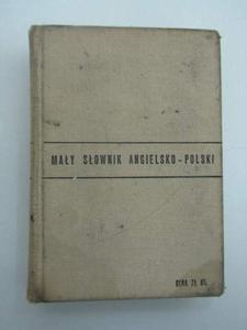 MAŁY SLOWNIK ANGIELSKO-POLSKI - 2822581961