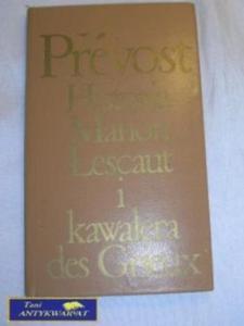 HISTORIA MANON LESCAUT I KAWALERA DES GRIEUX - 2822523948