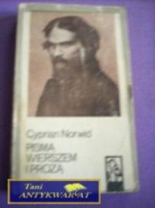 PISMA WIERSZEM I PROZĄ-C.Norwid - 2822528386