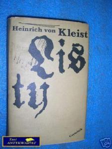 LISTY-Heinrich von Kleist - 2822530349