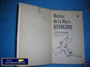 QUINCUNX I INNE OPOWIADANIA - W.de la Mare - 2822530425