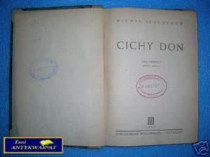CICHY DON TOM I CZĘŚĆ II - M.Szołochow - 2822530971