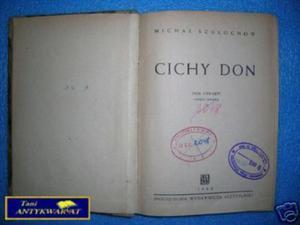CICHY DON TOM IV CZĘŚĆ II - M.Szołochow - 2822533795