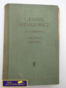 OGNIEM I MIECZEM TOM II Henryk Sienkiewicz - 2822533885