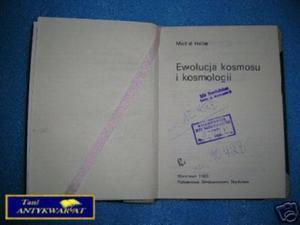 EWOLUCJA KOSMOSU I KOSMOLOGII - M. Heller - 2822536393