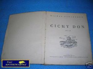 CICHY DON T.I i II - M.Szołochow - 2822537844
