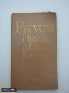 HISTORIA MANON LESCAUT I KAWALERA DES GRIEUX - 2822539441