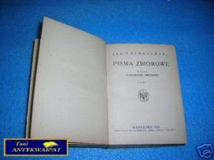 PISMA ZBIOROWE TOM II - J.Kochanowski - 2822539759