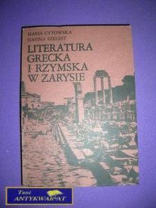 LITERATURA GRECKA I RZYMSKA W ZARYSIE - 2822540269