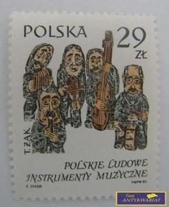 ZNACZEK POLSKIE LUDOWE INSTRUMENTY MUZYCZNE - 2822542399