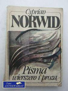 PISMA WIERSZEM I PROZĄ - 2822543592