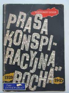 PRASA KONSPIRACYJNA ROCHA 1939-1945 - 2822547729