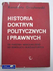 HISTORIA DOKTRYN POLITYCZNYCH I PRAWNYCH - 2822548139
