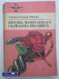 HISTORIA MANON LESCAUT I KAWALERA DES GRIEUX - 2822548781