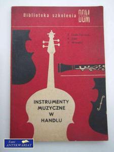 INSTRUMENTY MUZYCZNE W HANDLU - 2822548841