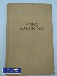 ANNA KARENINA tom 2 - 2858292927