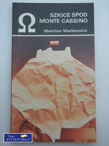 SZKICE SPOD MONTE CASSINO - 2822551355