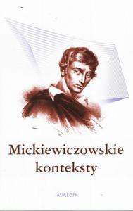 Mickiewiczowskie konteksty - 2860855864