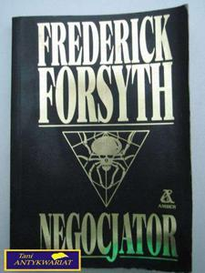NEGOCJATOR- Frederick Forsyth