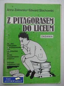 Z PITAGORASEM DO LICEUM - 2822560600