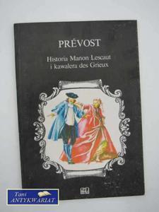 HISTORIA MANON LESCAUT I KAWALERA DES GRIEUX - 2858295466