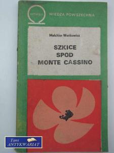 SZKICE SPOD MONTE CASSINO - 2822568172