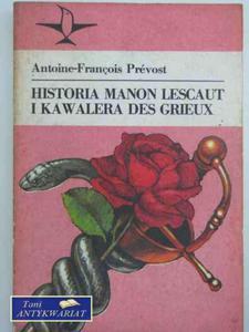 HISTORIA MANON LESCAUT I KAWALERA DES GRIEUX - 2822568421