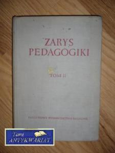 ZARYS PEDAGOGIKI tom II - 2822569313